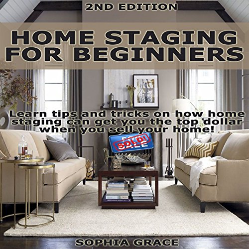 Home Staging for Beginners 2nd Edition audiobook cover art