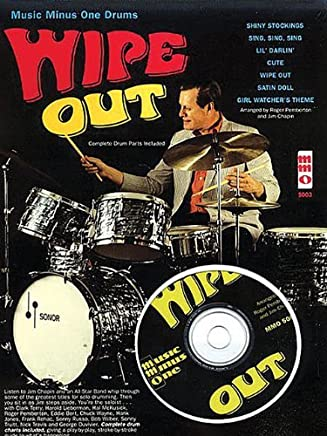 Wipe Out: Music Minus One for Drums by Jim Chapin(2007-12-01)