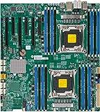 Supermicro X10DAX Server Motherboard - Intel C612 Chipset - Socket R3 (LGA2011-3) - 1 x Retail Pack MBD-X10DAX-O