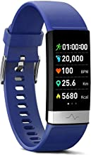 MorePro Fitness Tracker HRV,HD Color Screen Activity Tracker with Heart Rate Blood Pressure,Waterproof Health Watch,Sleep ...