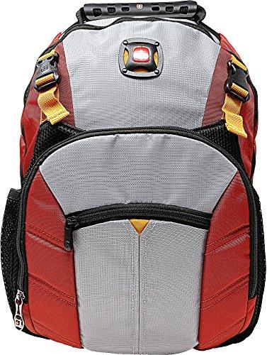 Swiss Gear Sherpa 16 Rucksack aus Nylon, Rot