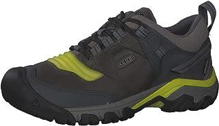 حذاء المشي للرجال KEEN RIDGE FLEX WP-M, (رمادي فولاذي/زهرة الربيع المسائية), 48.5 EU
