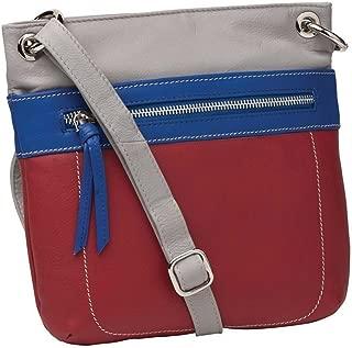Zuri Leather Crossbody Bag