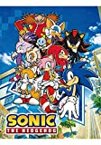 Great Eastern GE-57717 Sonic The Hedgehog Big Group Sublimation Throw Blanket, 46' x 60', Brown