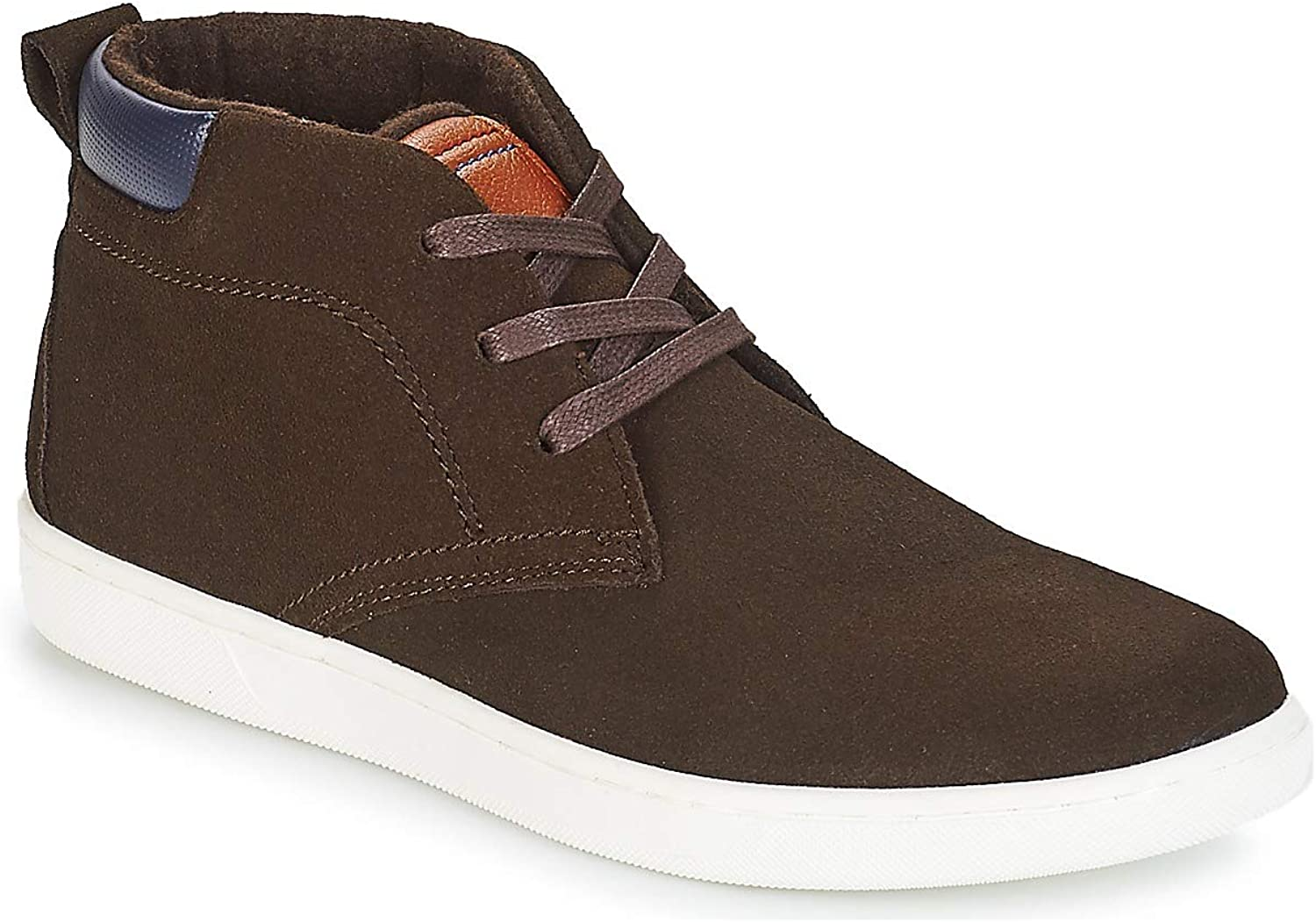 André Frontside Trainers Men Brown Hi top Trainers
