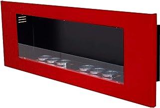 Gel en ethanolhaard model Tornado Inclusief 6 barnstofblikjes van wit plaatstaal 0,25 liter - kleurkeuze (rood + veilighei...
