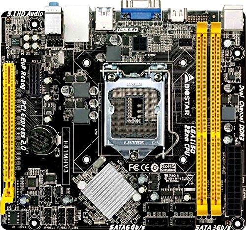Biostar MB H81MHV3 (H81,S1150,mATX,DDR3,Intel,EuP)