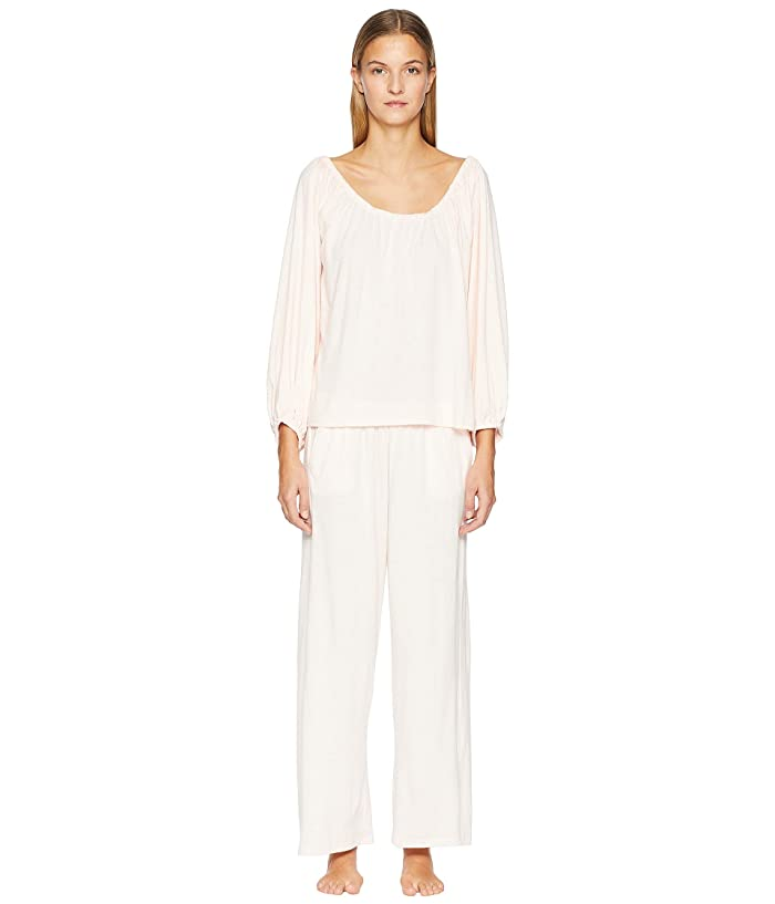 Skin Natural Skin 29 Long Sleeve and Pants Gift Set (Pearl Pink) Women