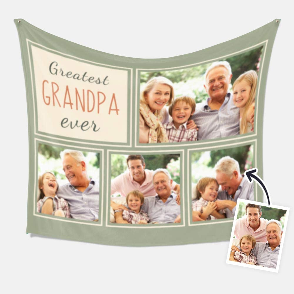 Custom Blanket Personalized with Customized Throw Bargain shopping Photo