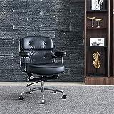 WNN-URG Jefe silla oficina masaje sillón reclinable silla primera capa cowhide ejecutiva giratorio silla de oficina ajustable reposabrazos escritorio de computadora reclinable brazo asiento elevador d