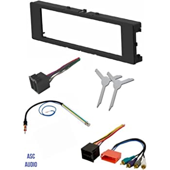 Amazon Com Premium Car Stereo Install Dash Kit Wire Harness And