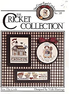 cricket collection cross stitch