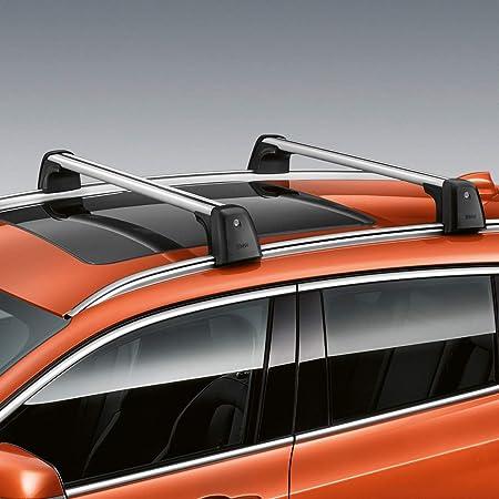 Alu Relingträger Vdp004xl Kompatibel Mit Bmw X5 E70 06 10 Bis Abschließbar Auto