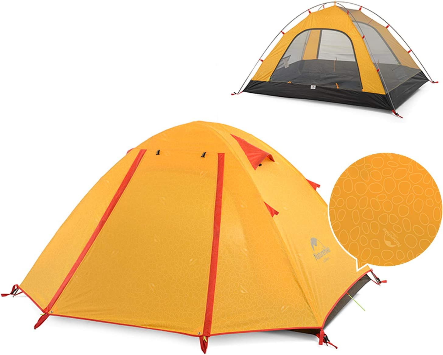 Naturehike Lightweight Backpacking Tent 1 2 Season Person [Alternative dealer] Animer and price revision 4 3