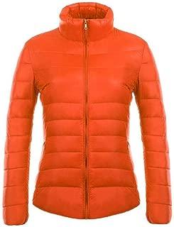 KINDOYO Women's Winter Down Puffer Jacket Coat Packable Ultra Light Weight