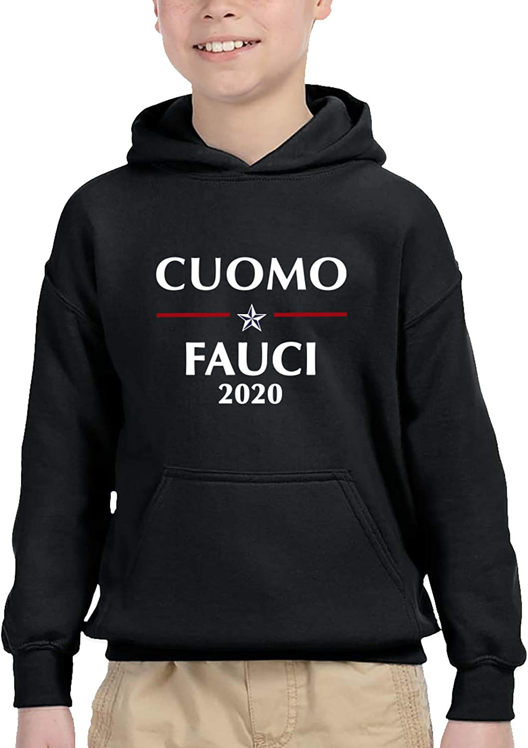 Cuomo Fauci 2020 Teen Hooded Sweater Casual Sweater For Baby Boys Girls
