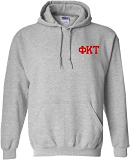 Phi Kappa Tau World Famous Crest Hooded Sweatshirt