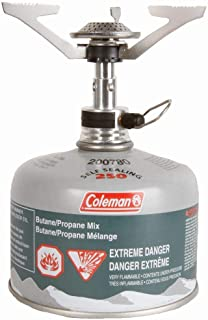 Coleman FyreLite Butane/Propane Stove with Backpack, Multi-coloured