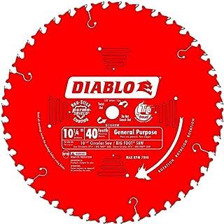 Diablo 10-1/4 in. Dia. x 5/8 in. Carbide Tip Circular Saw Blade 40 teeth 1 pk