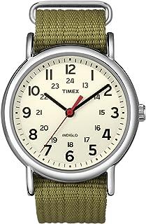 ساعة تايمكس ويكندر للجنسين 38 ملم نايلون انالوج بعقارب طراز T2N651