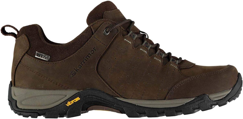 Official Karrimor Journey WTX Walking shoes Mens Brown Hiking Footwear Boots