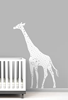 Cornet Giraffe Baby Nursery Wall Decal by LittleLion Studio