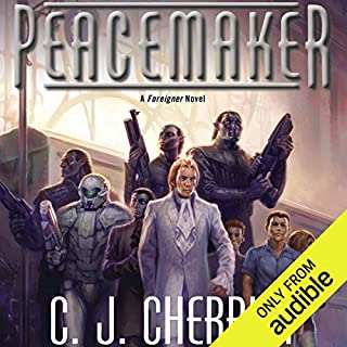 Peacemaker audiobook cover art