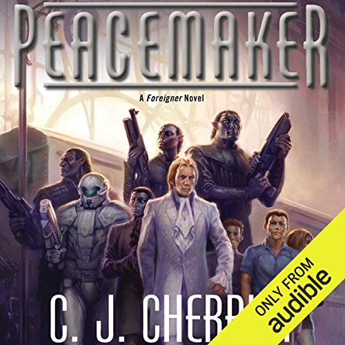 Peacemaker     Foreigner Sequence 5, Book 3              By:                                                                                                                                 C. J. Cherryh                               Narrated by:                                                                                                                                 Daniel May                      Length: 12 hrs and 26 mins     363 ratings     Overall 4.7