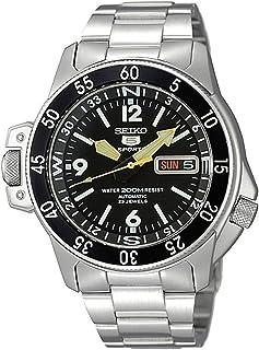 Seiko Five Sports Men Automatic Watch - SKZ211K1 Silver
