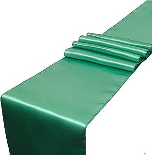 Best mint green satin table runner Reviews