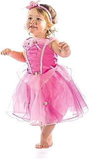 Disney Princesas Bruce Lee Disfraz bebé, Color rosa, 12-18 Meses (Travis Designs DCPRSB012)