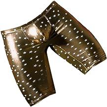 #N/A Heren Boxershorts Wetlook Ondergoed Bodysuit Heren Ondergoed Onderbroeken Kleding Lingerie