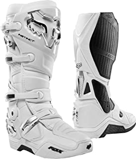 2020 Fox Racing Instinct Boots-White/Silver-14