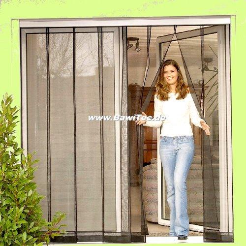 Lamellen-Vorhang Fiberglas 100 x 220 cm UV-beständig Insektenschutz Fliegengitter
