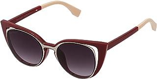 Sky Vision Cat Eye Sunglasses for Women, Black Lens, FF01363