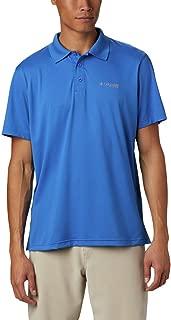 Columbia Men's PFG Skiff Cast Polo Shirt, Breathable, UV