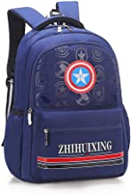 Arkmiido Canvas Royal Blue Waterproof Large Capacity Backpack