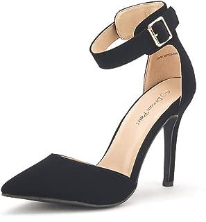 Best black pointed platform ankle strap heels Reviews