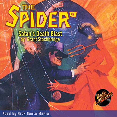 Spider #9 June 1934 audiobook cover art