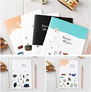 Student Notebook Cartoon Soft Cover Diary Meeting Notebook Stationery Supply
