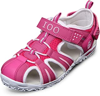 Summer Beach Outdoor Closed-Toe Sandals for Boys and Girls 5 M Big Kid Rose New 37