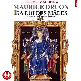 La loi des mâles audiobook cover art