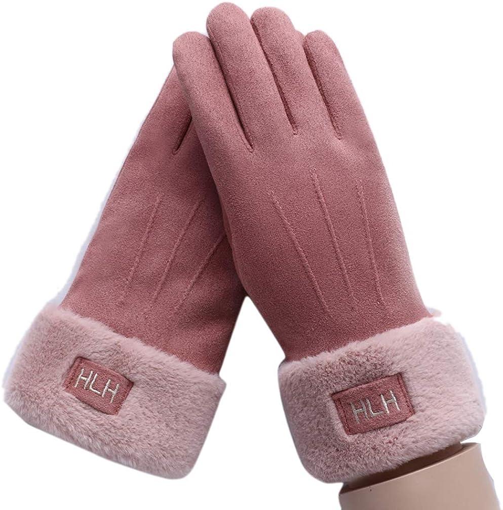 Ealafee 2019 Womens Touchscreen Winter Gloves Warm Fleece Lined Driving Gloves