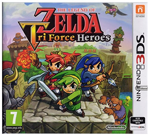 The Legend Of Zelda: Tri Force Heroes 3Ds- Nintendo 3Ds