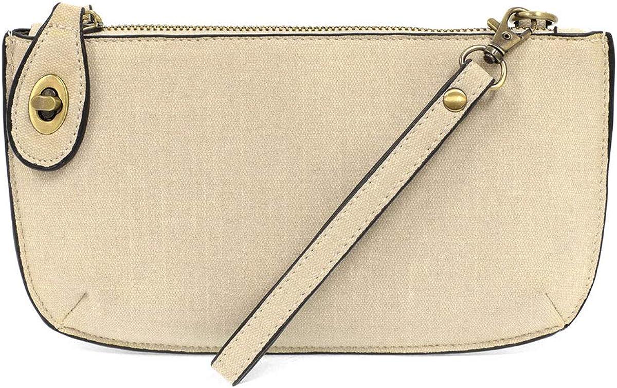 Joy Susan Faux quality assurance Max 76% OFF Linen Crossbody: Clutch Wristlet