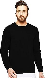 Leotude Men's Fleece Turtle Neck Sweatshirt