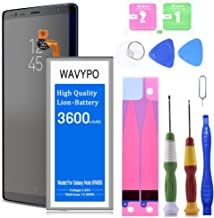(Upgraded) Galaxy Note 8 Battery, 3600mAh Wavypo Replacement Battery for Samsung Galaxy Note 8 [SM-N950 N950T N950A N950P N950V N950R4 ] with Repair Toolkit [24 Month Warranty]