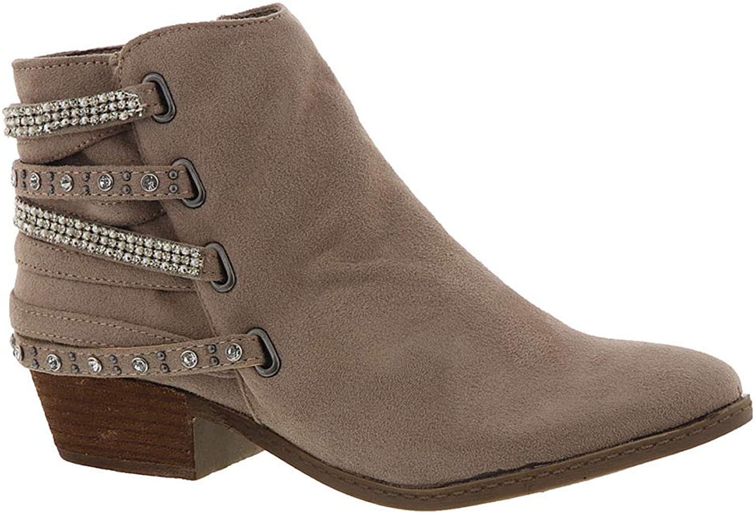 Not Rated Womens Lynn Fabric Closed Toe Ankle Fashion Boots