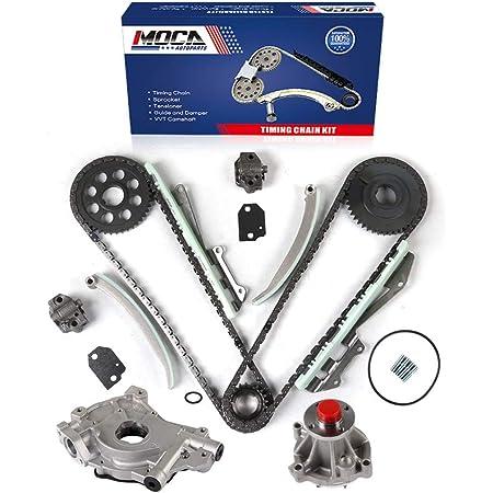 6.8 SOHC 20V VIN S Timing Chain Kit Oil Pump Evergreen TK6054EOP Fits 97-01 Ford Lincoln 5.4 SOHC 16V VIN L