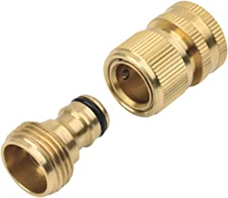 Melnor 15412 2-Piece Brass Adapter Set with Product End Hose Connector